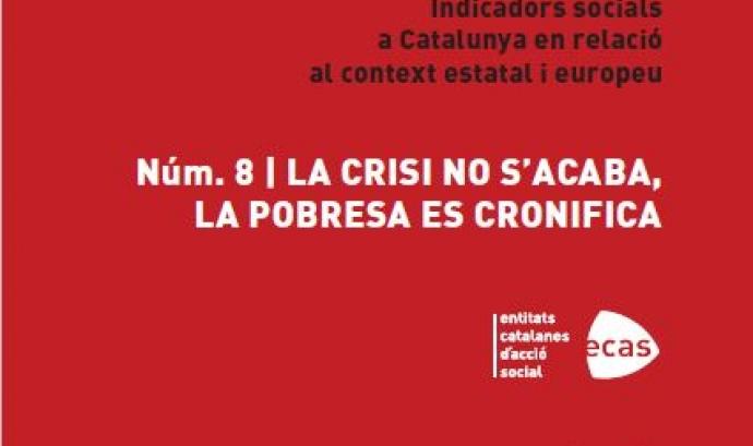"""Presentació de l'INSOCAT 8: """"La crisi no s'acaba, la pobresa es cronifica"""""""