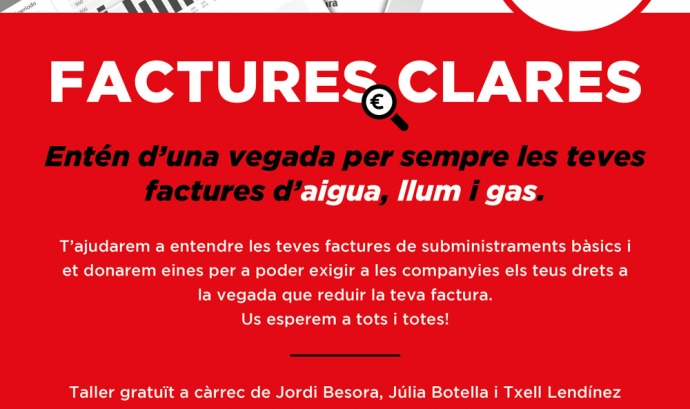 Taller: Factures Clares