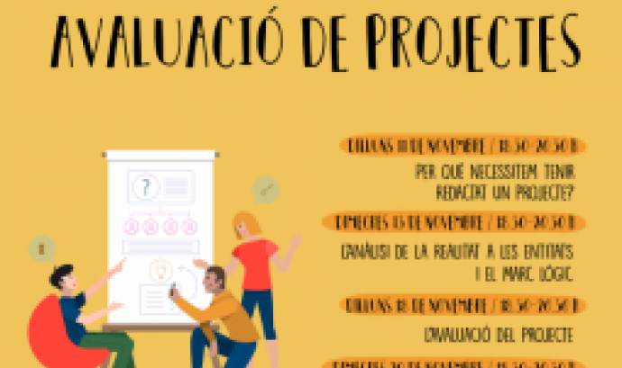 Cartell del Cicle de projectes