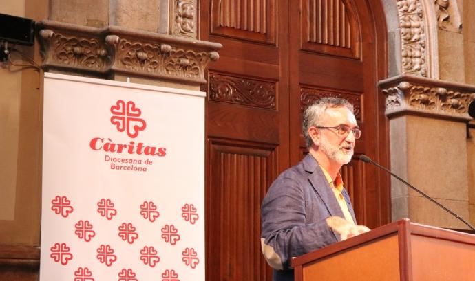 Càritas compta amb l'Escola de Formació del Voluntariat, dirigida per Jaume Casassas. Font: Càritas.