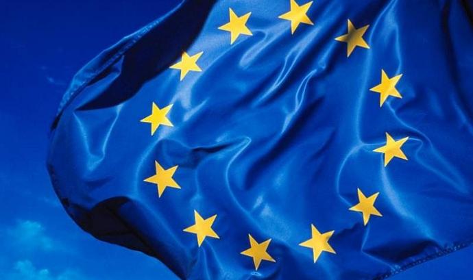 European Flag. Font: Rock Cohen (flickr) Font: