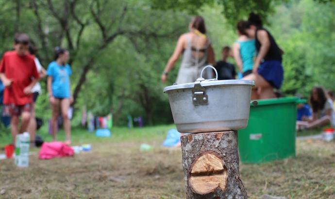Campaments d'estiu de l'AEiG Montpalau Font: AEiG Montpalau