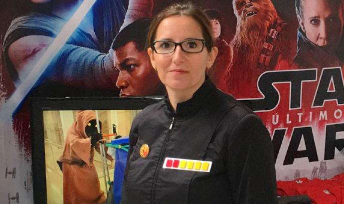 Rocío Fernández, Secretaria de Star Wars Catalunya Font: Star Wars Catalunya
