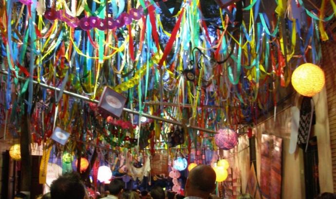 Festes de Gràcia (imatge: flickr, Anna Fuster)