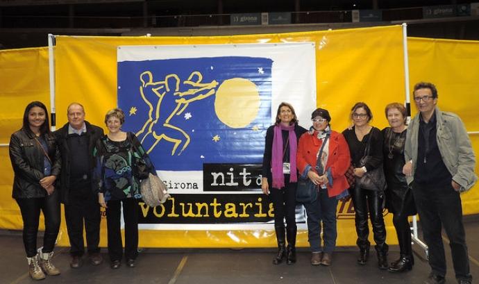 Imatge de l'11a Nit del Voluntariat a Girona Font: FCVS