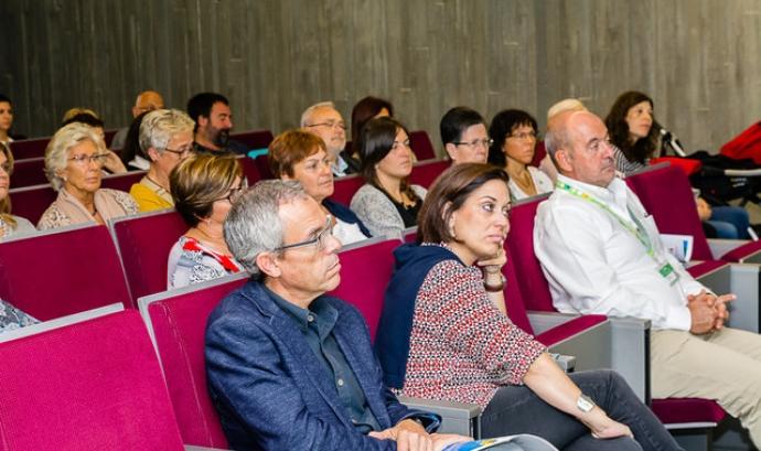 Públic assistent a la 5a Jornada de Voluntariat i Salut a Girona. Font: FCVS