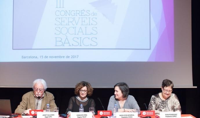 Foto de l'edició del II Congrés de Serveis Socials Bàsics