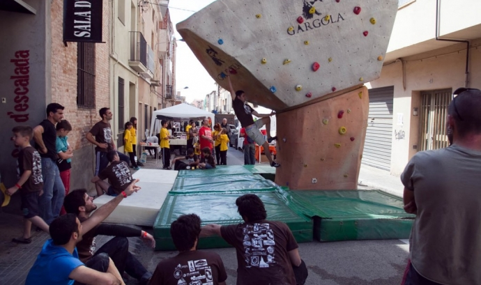 Foto del Tercer Open de bloc de Gravetat Zero, open solidari