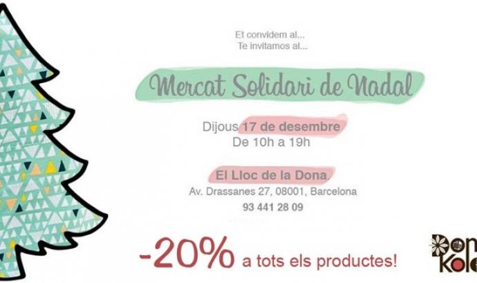 Mercat Solidari de Nadal a Dona Kolors