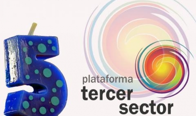Logotip commemoratiu de la plataforma