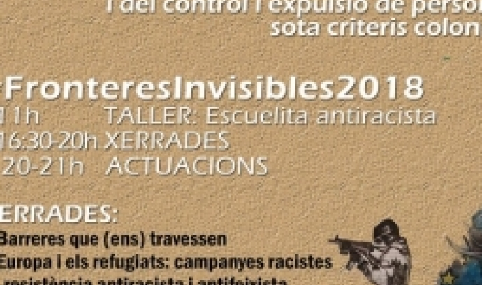 Cartell de Fronteres invisibles