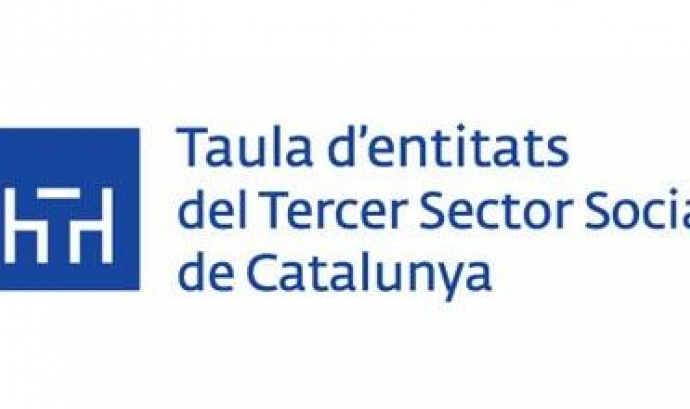 Logo de la  Taula d'entitats del Tercer Sector Social de Catalunya Font: