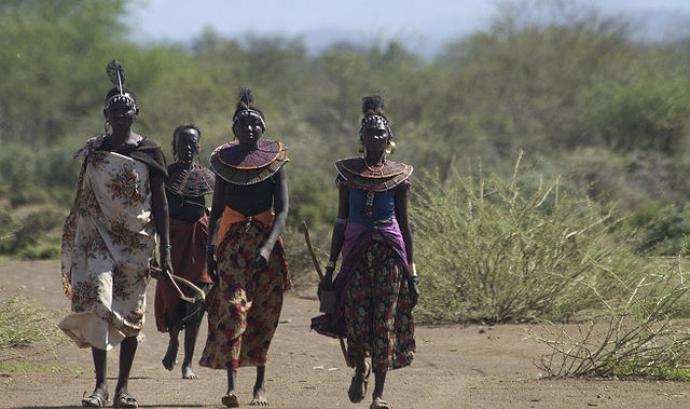 Tribu del Sudan del Sud Font:
