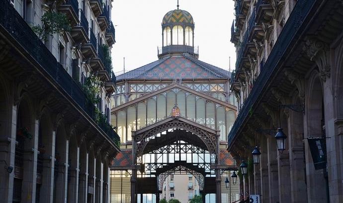 Mercat del Born, Barcelona. Font: Wikipedia Font:
