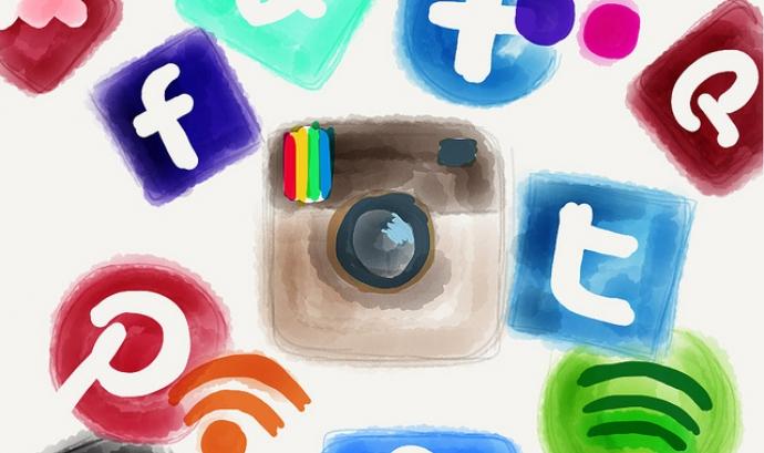 Xarxes socials Font: