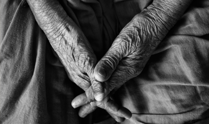 """The Beauty of Old Age"" de VinothChandar (CC 2.0)  Font: VinothChandar (CC 2.0)"