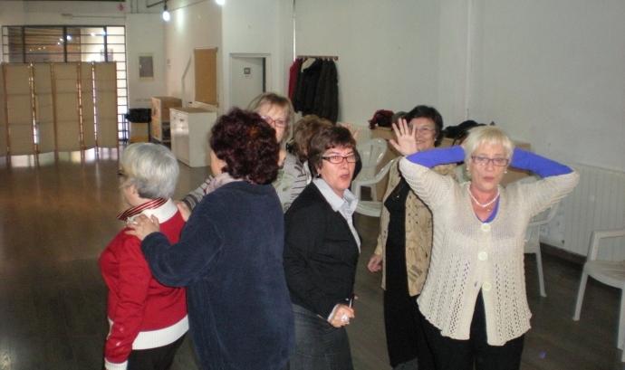 El grup de teatre dels Joves Jubilats Font: