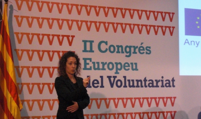 Benvinguda al II Congrés Europeu del Voluntariat Font: