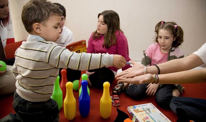 Infància. Font: Creu Roja. Nitid fotografia (Flickr) Font: