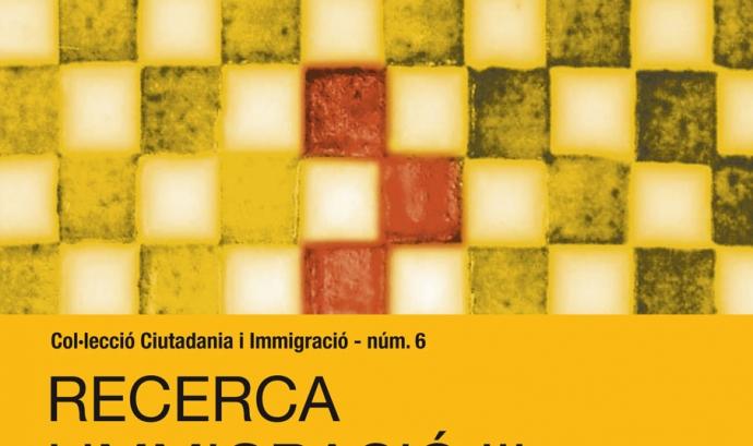 Portada del document sobre Recerca i Immigració III Font: