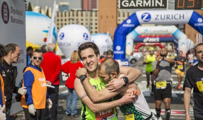 L'esport és una eina de captació de fons per les ONG. Font: Zurich Marató de Barcelona