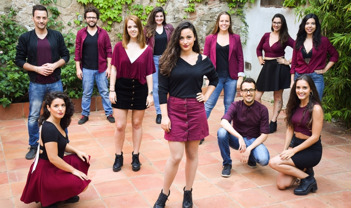 A Grup Vocal i l'espectacle OCTUBRE. Cançons per la llibertat Font: A Grup Vocal