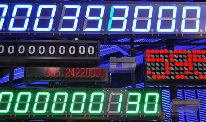 Números digitals. Càlculs.  Font: