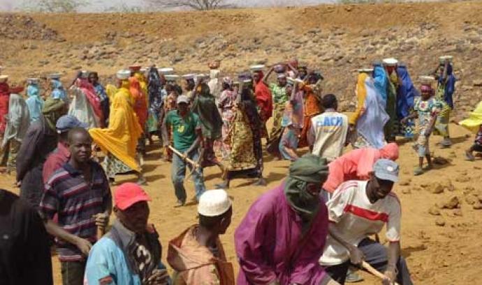 Els projectes finançats són bàsicament a l'Àfrica Font: