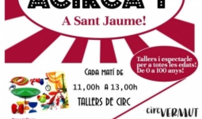 Cartell de l'Acirca't (Foto: Sant Jaume)