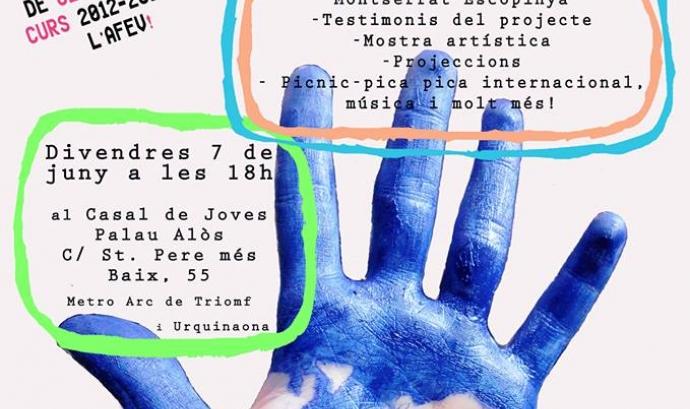 """L'AFEV celebra la jornada """"Acompany'art"""" com a cloenda de curs d'acompanyaments educatius Font:"""