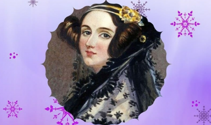 Ada Lovelace en el calendari d'advent de Ypung IT Girls