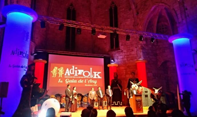 La gala anual de l'entitat (Foto: Adifolk) Font: Adifolk
