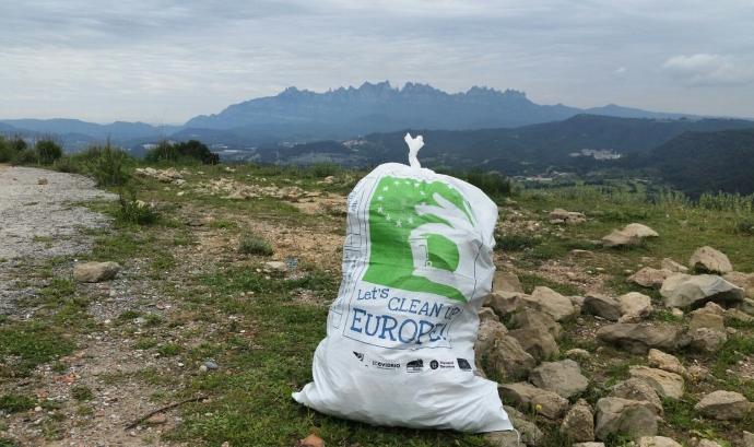 El Let's Clean Up ha superat les 16.000 accions amb més de 800.000 persones voluntàries a tot Europa. Font: Let's Clean Up