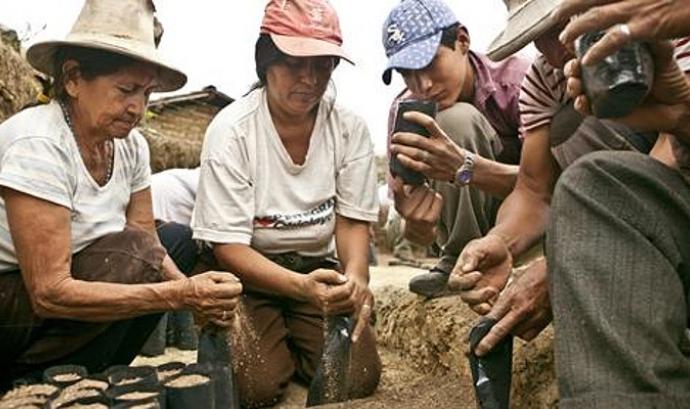 Projecte de cooperació a Bolívia finançat per l'Agència Espanyola de Cooperació Internacional.