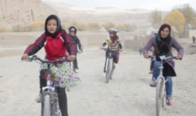 Projecció de la pel·lícula 'Afghan cycles' al Festival Rueda