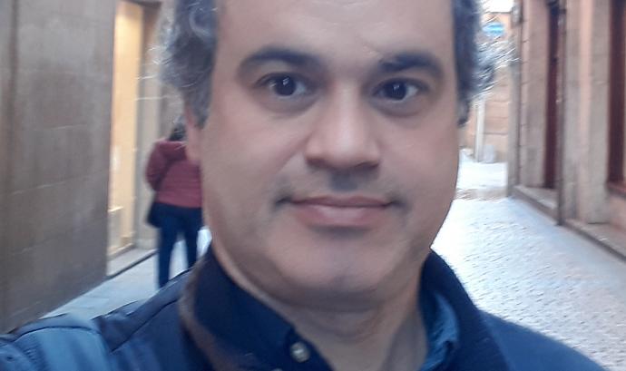 Albert Gasch, responsable de relacions associatives de Fiare Banca Ètica.