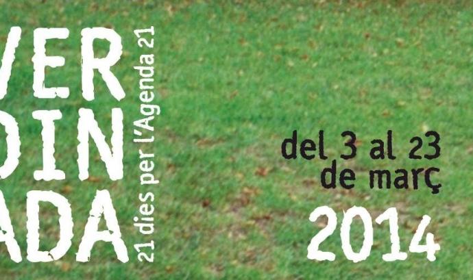 Cartell de La Verdinada 2014