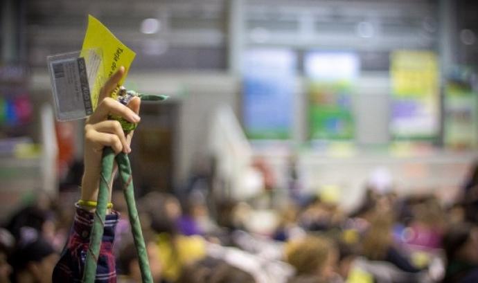 Moment de votació / Foto: FCEG