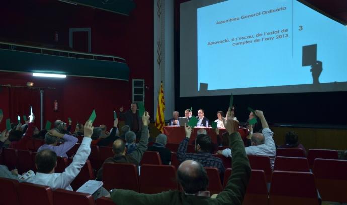 L'Assemblea General es va celebrar al Casino de Caldes