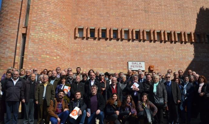 Assemblea General de Socis de la Federació d'Ateneus de Catalunya (Esparreguera, març 2016) Font: