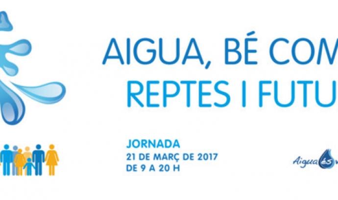 Jornada 'Aigua, bé comú. Reptes i futur'. Font: Plataforma Aigua és Vida