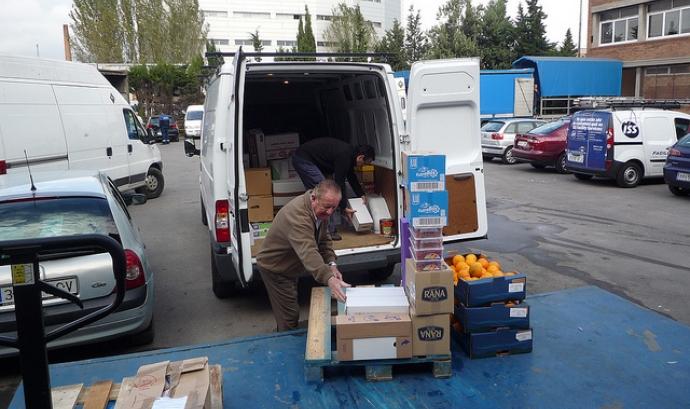 Ajuda alimentària. Font: Banc dels Aliments (Flickr) Font: