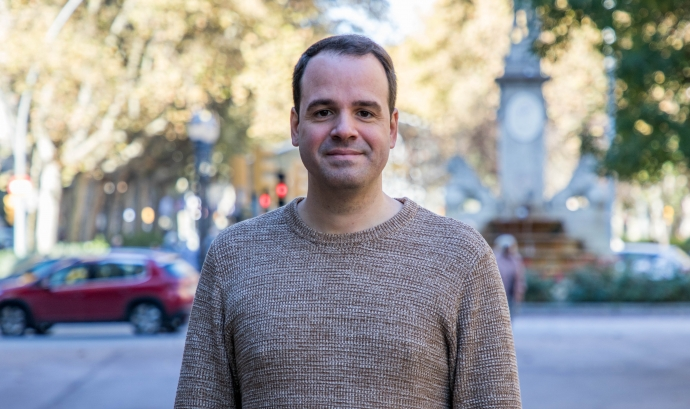 Albert Quiles, Director Gerent d'Amics de la Gent Gran Font: Juan Lemus