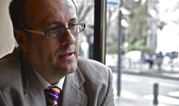 Alejandro Inurrieta és l'economista madrileny que escriurà el llibre sobre l'accés a l'habitatge. Font: Zona Retiro. Font: Zona Retiro