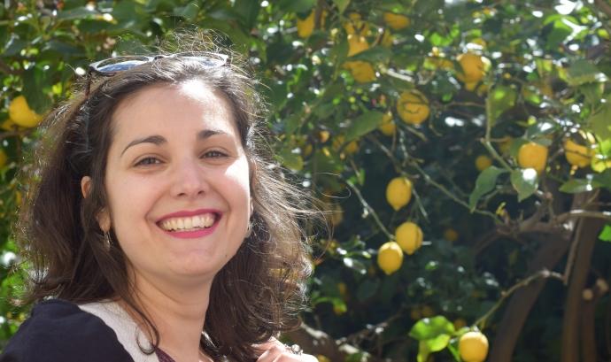 Amalia Cuesta és tècnica d'investigació en àmbit jurídic a Accem Font: Amalia Cuesta.