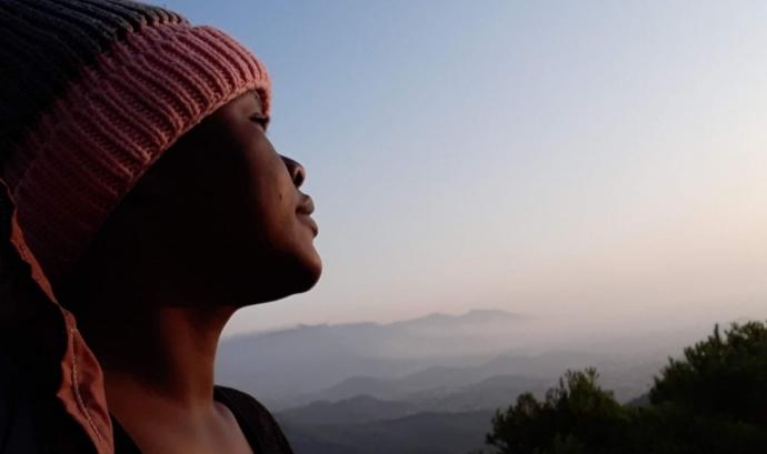 L'Aminata és una de les cinc protagonistes del curtmetratge. Font: Aminata