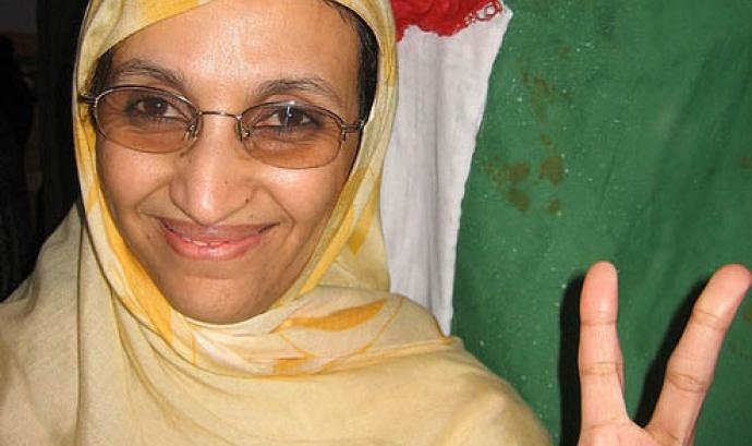 L'activista Aminattou Haidar Font: