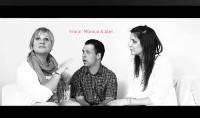 """Imatge de la campanya """"Històries d'amor"""" d'AMPANS  Font:"""
