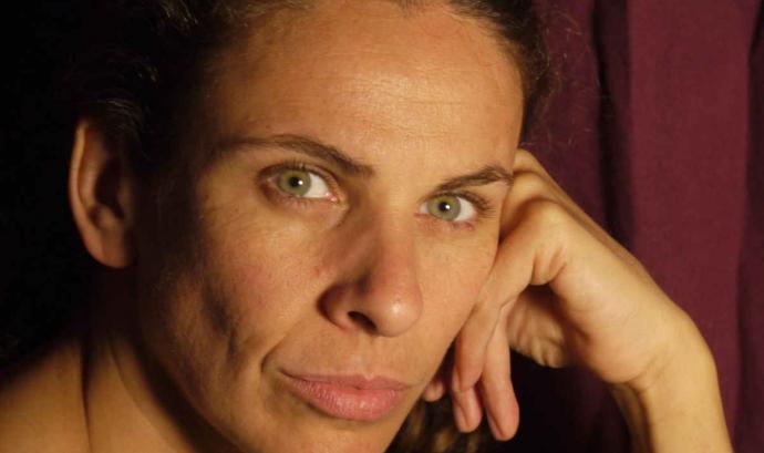Anna López, professora de mindfulness a l'Escola d'Estiu del Voluntariat.