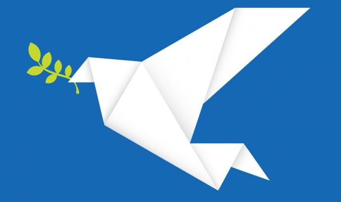 La paloma, símbol de la pau Font: ANUE